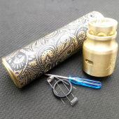 Rogue Styled Hybrid Mechanical Mod + AV Comp Lyfe Battle RDA