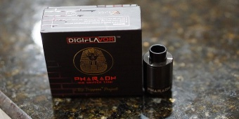 DigiFlavor Pharaoh Dripper Tank black